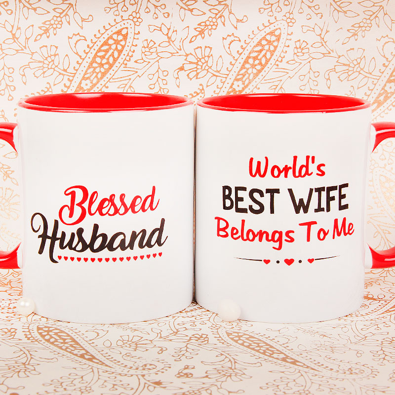 Best Wifey Mug with Both Sided View