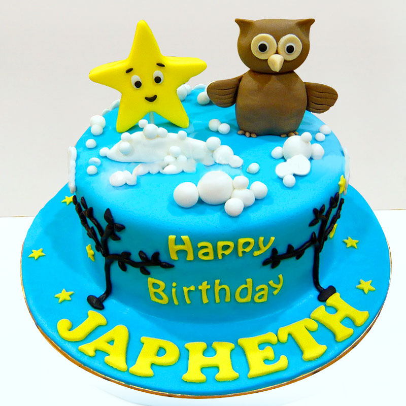 Cute Cartoon Cake
