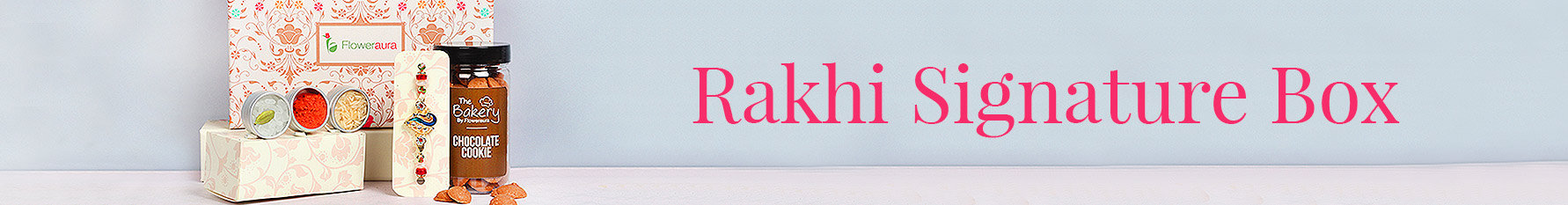 Signature box Rakhi Gifts