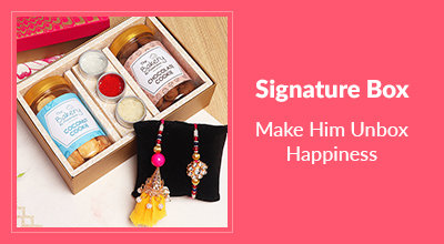 Signature Box Rakhi