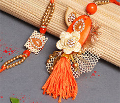 Rakhi Gifts for Bhaiya Bhabhi to Overseas