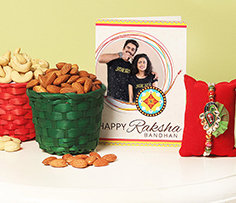 Rakhi with Dry Fruits to Overseas