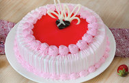 Strawberry Cakes in Gurgaon