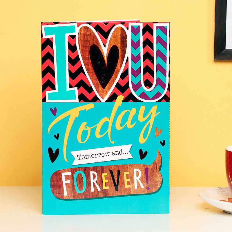 Forever Love Greeting Card