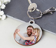 Personalized Keychain for Fathers Day
