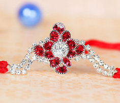 American Diamond Rakhi