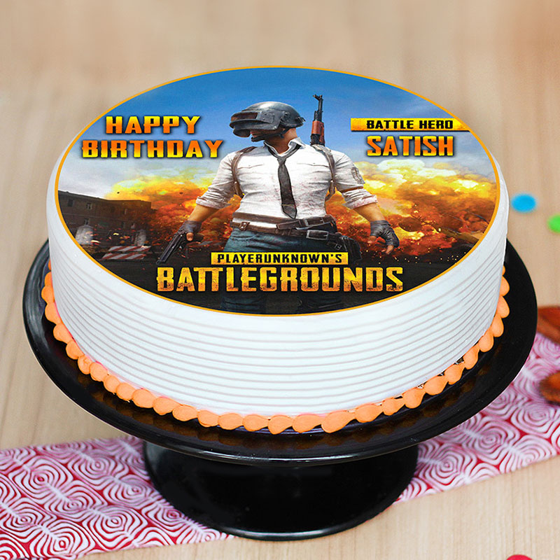 Order Pubg Battleground Cake Online Price Rs 1449