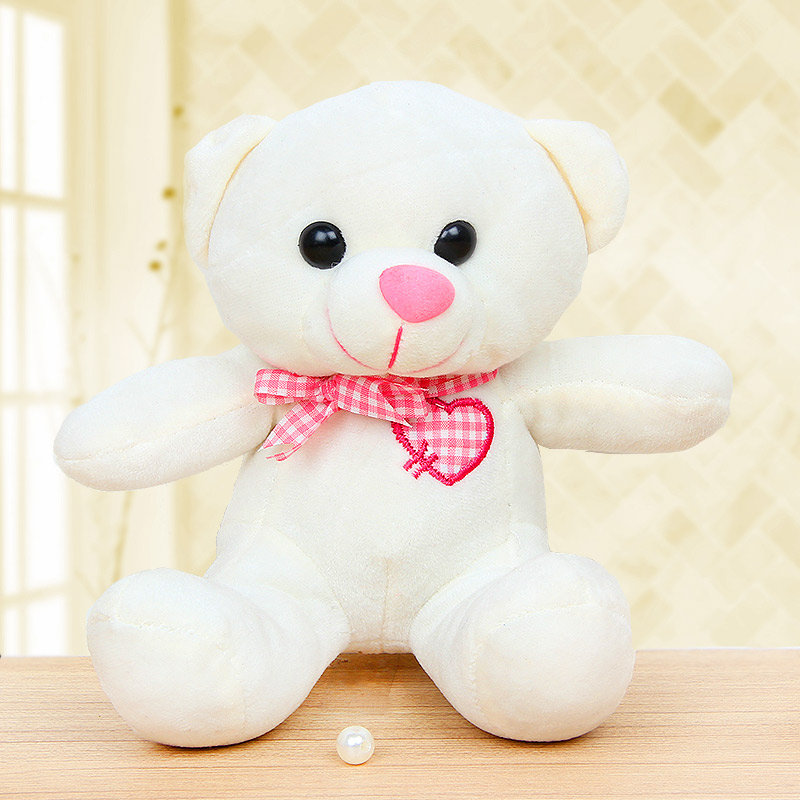 Teddy and Flower Combo for Teddy Day Gift