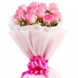Send Pink Roses to India