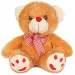 Send Large Teddy Bear gift with flowers