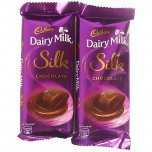 2 Cadbury Dairy Milk Silk