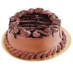 Send 1/2 kg chocolate cake to India