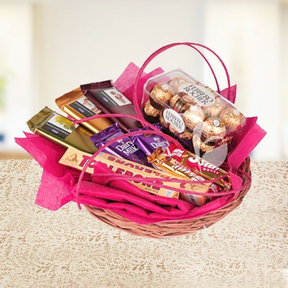 Chocolicious Basket