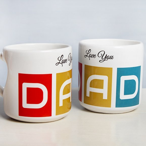 Worlds Best Daddy Mug with Both Sided View