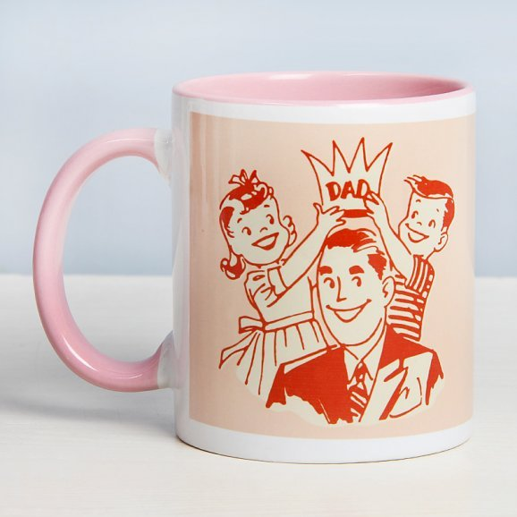Love Redefined Mug for Father with Back View