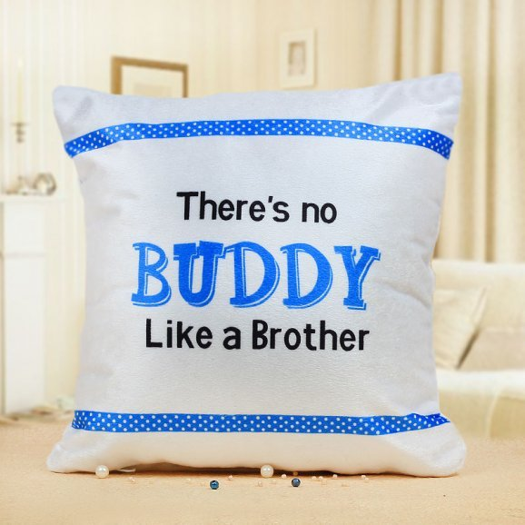 There is no Buddy Like a Brother Cushion