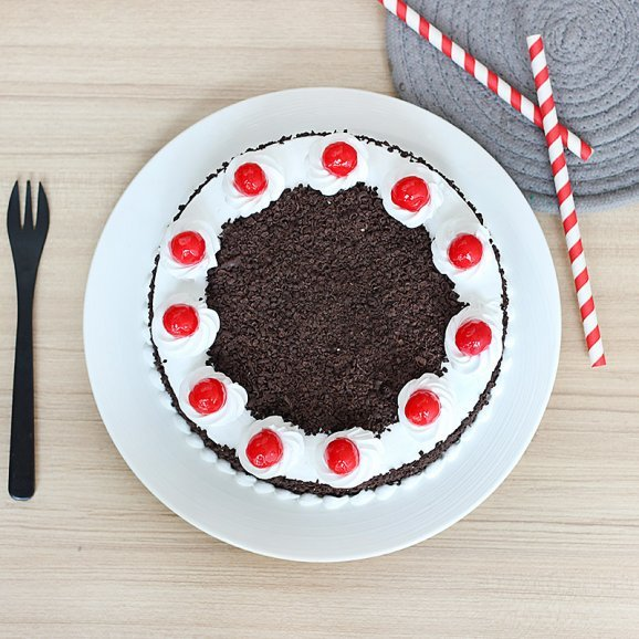 Black Forest Cake - Top View