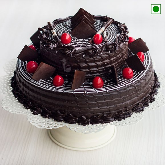 Chocolate truffle vegeterian cake
