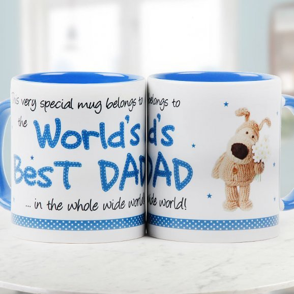 Worlds Best Dad Quoted Dutone Mug for Fathers Day with Both Sided View