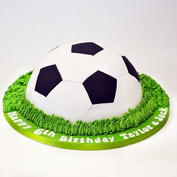 Order Mouth Watering Football Cake Online Price Rs 4999 Floweraura