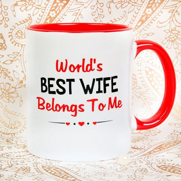 Best Wifey Mug with Front Sided View