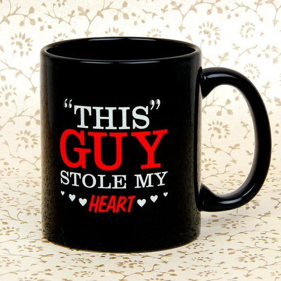 Stole Heart Couple Mug