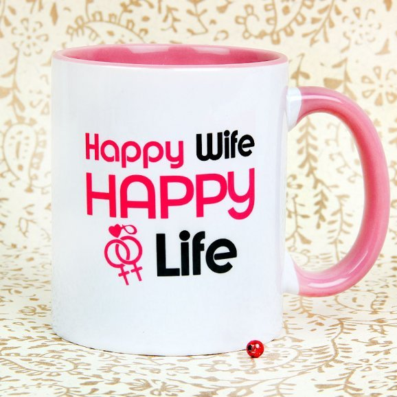 Fun Times Couple Mug with Front Sided View