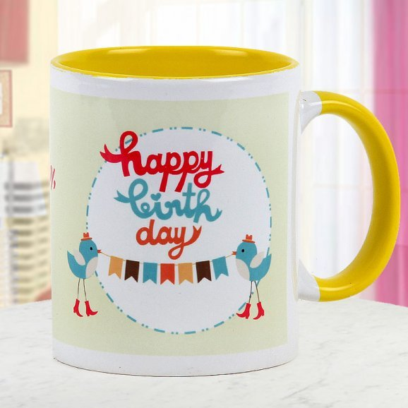 Happy Birthday Mug - Say Happy Birthday in Style