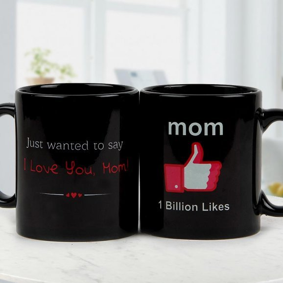 One In A Billion Mom Mug with Both Sided View