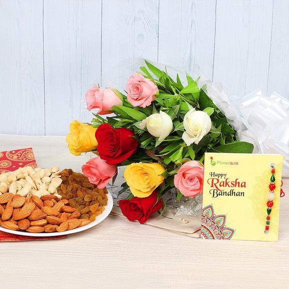 Rakhi with Dry Fruit