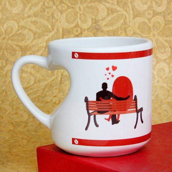 Where You Bean All of My Life Mug with Back Sided View
