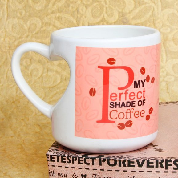My Cup of Cheer Printed Mug with Back Sided View