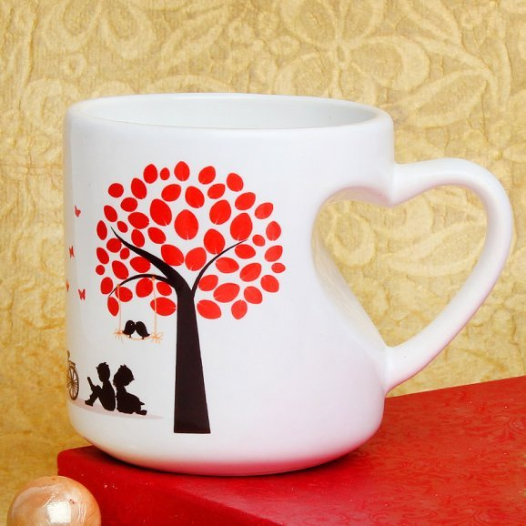 My Favorite Love Story Mug with Front Sided View