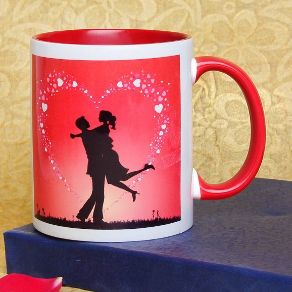 Promising You Forever Mug with Front Sided View