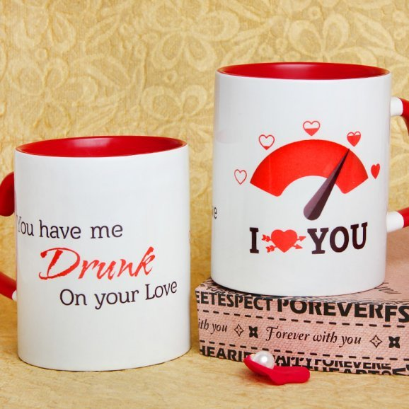 You Have Me Drunk Printed Mug with Both Sided View