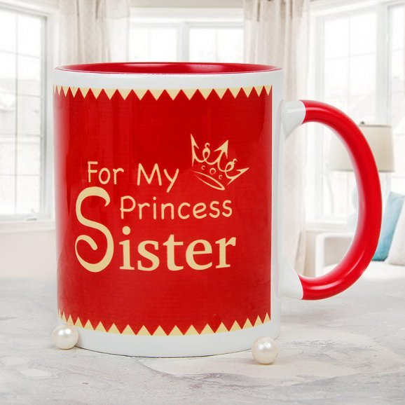 A Little Pamper Sister Mug
