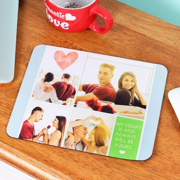 A Moment Of Adoration - Personalised Mouse Pad