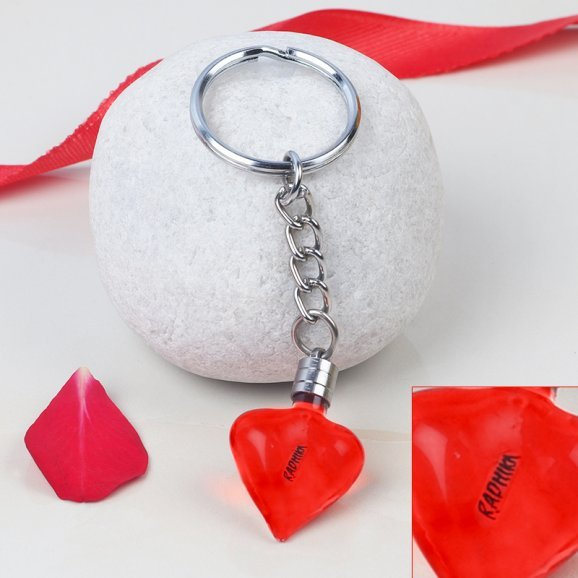 Affection Unchained - Personalised Rice Grain Key Chain