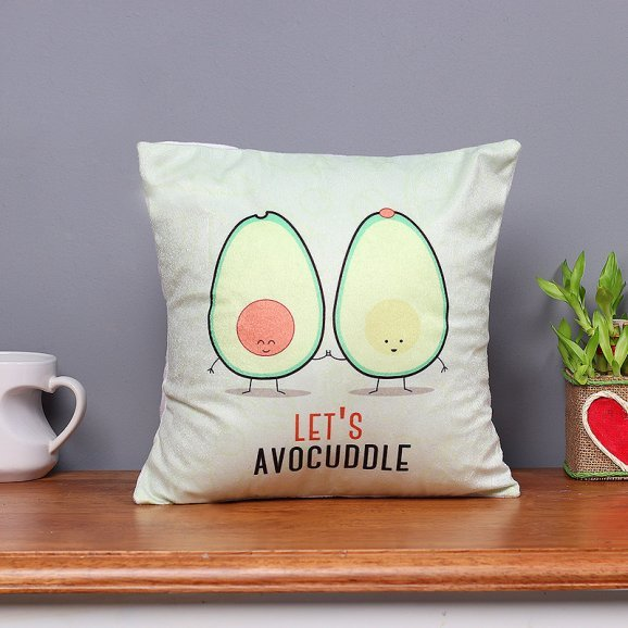 Avocuddle Printed Cushion with Distant View