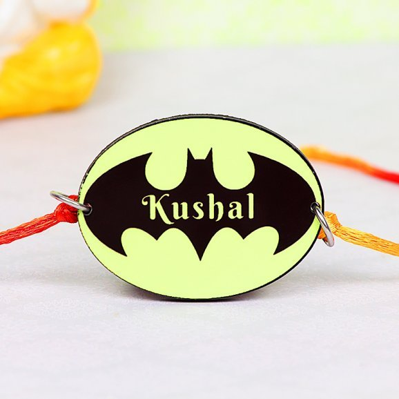 Batman Personalised Rakhi for Brother