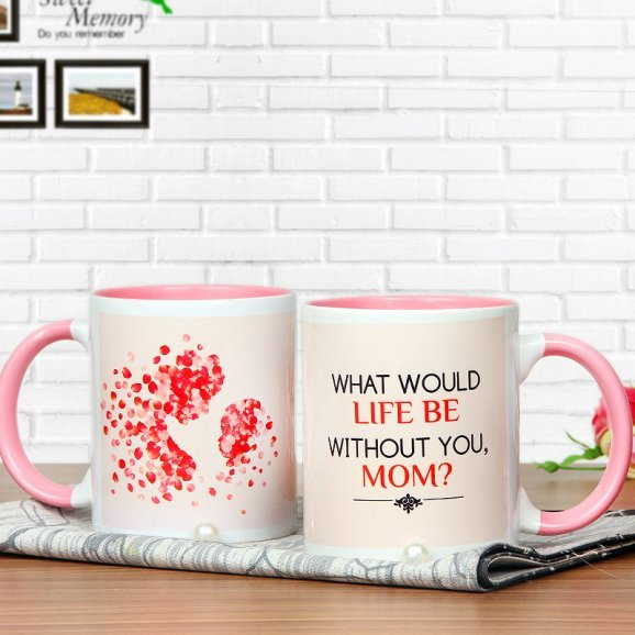 One Mothers Day Mug with Both Sided View