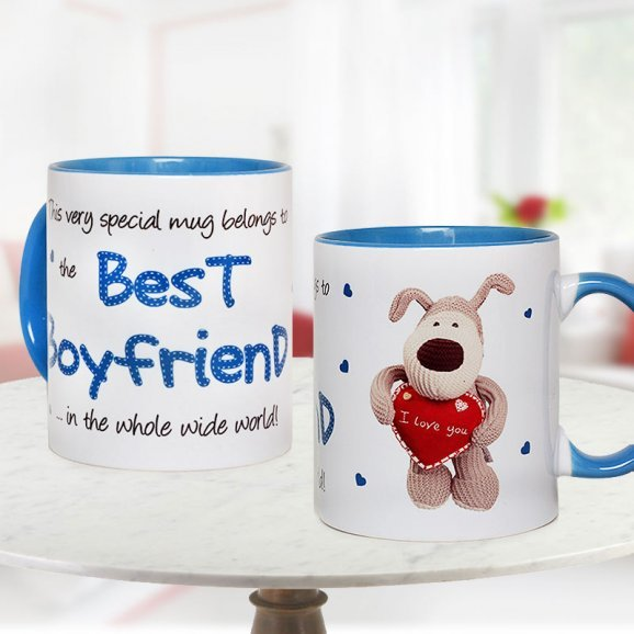 Best Boyfriend Mug with Both Sided View