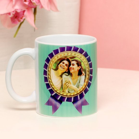 Best Mom In The World - A Personalised Photo Mug