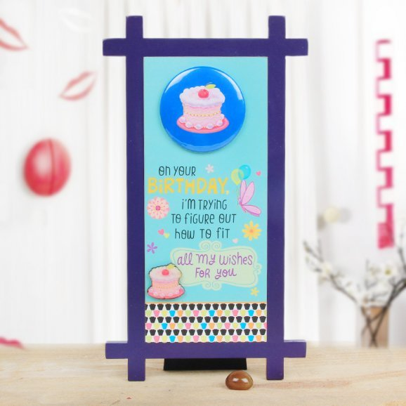 Birthday Quotation Table Top