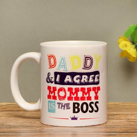 Boss Of The House - A Quoted Mug For Mother