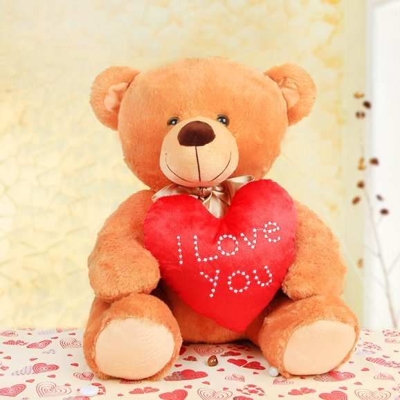 18 inches brown teddy