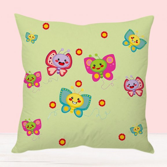 Butterfly World Cushion