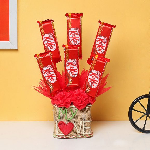 My Love Chocolate Bouquet