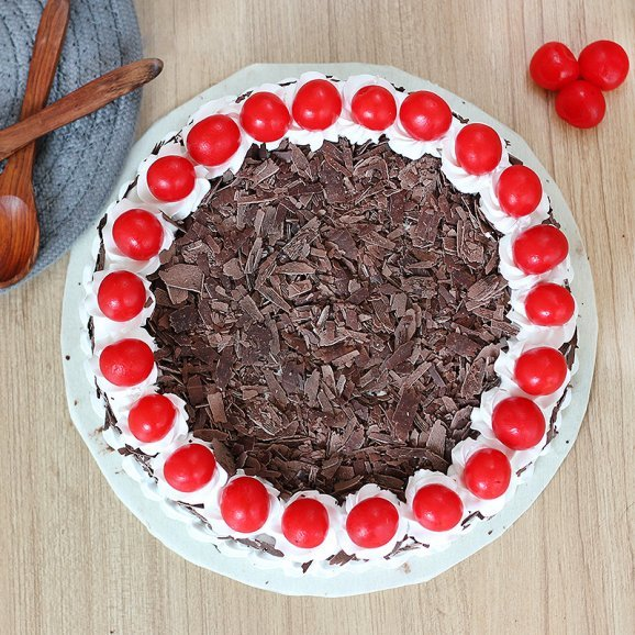 Chocolicious Black Forest - Top View