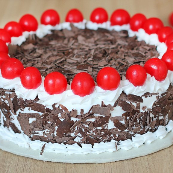 Chocolicious Black Forest Cake - Zoom View